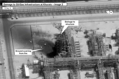 El sábado, varios drones causaron explosiones en una instalación petrolera de Arabia Saudita