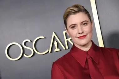 La directora de Mujercitas, Greta Gerwig, nominada en la categoría Mejor guion adaptado