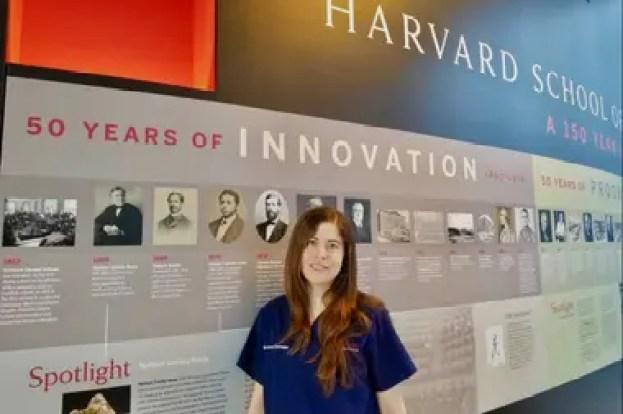 Bárbara en Harvard