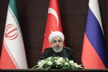 El líder supremo de Irán, el ayatollah Ali Khamenei