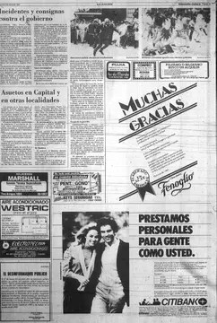 Así cubrió LA NACION la visita de Juan Pablo II a Chile en 1987. Foto: Archivo