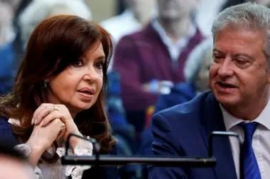 Cristina Kirchner y Carlos Alberto Beraldi
