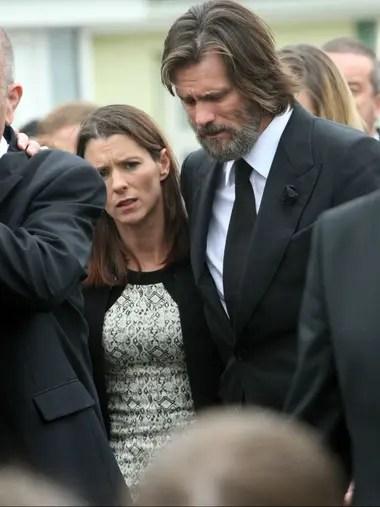 Carrey, devastado por la muerte de Cathriona