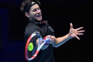 El austríaco Dominic Thiem disputará la Copa de Maestros del tenis con el ruso Daniil Medvédev, en Londres.