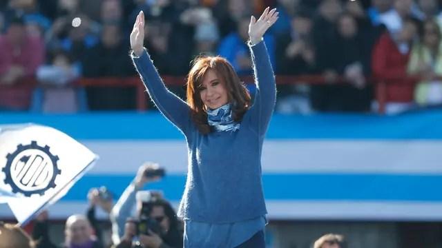 Cristina Kirchner irá por un banca en el Senado