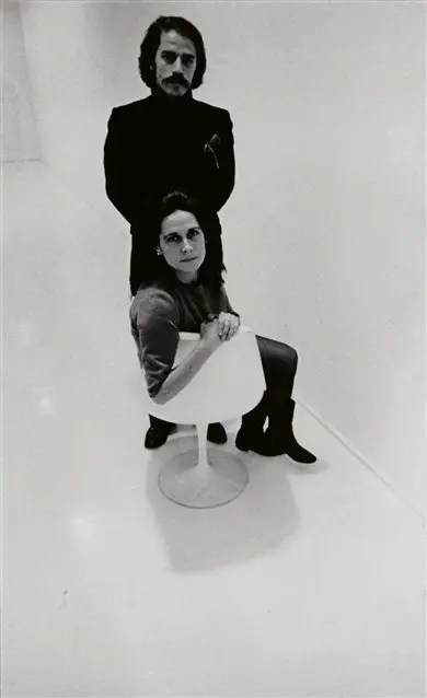 CARMELO CARRÁ Y CARMEN WAUGH. El artista encontró en Waugh el lugar para mostrar una forma alternativa de arte pop