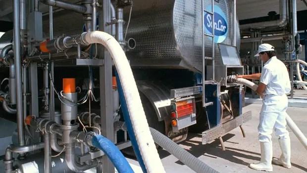 La planta de la empresa láctea, en Morteros