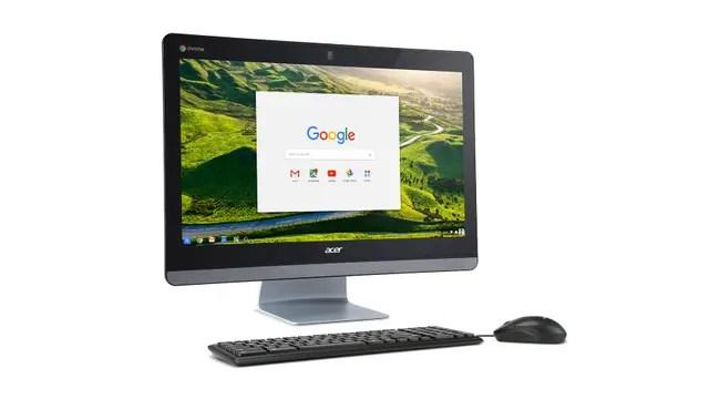 Una Acer Chromebase 24
