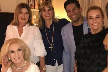 Mirtha Legrand suspendió su festejo de cumpleaños por el fallecimiento de Sofía Neiman