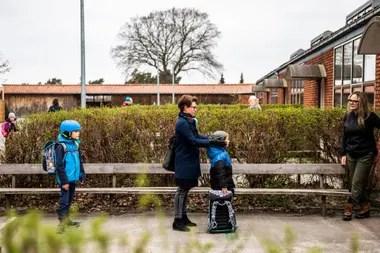 Vuelven las clases en Dinamarca