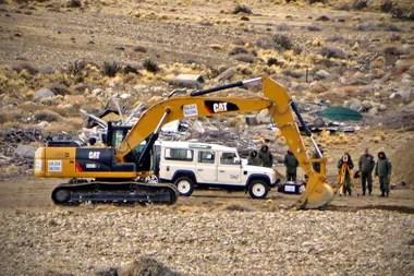 La estancia Cruz Aike, a 50 kilómetros de El Calafate, fue allanada y rastrillada dos veces en busca de supuestos bienes ocultos