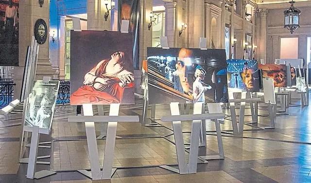 La obra de Storaro, lista en el Salón de los Escudos