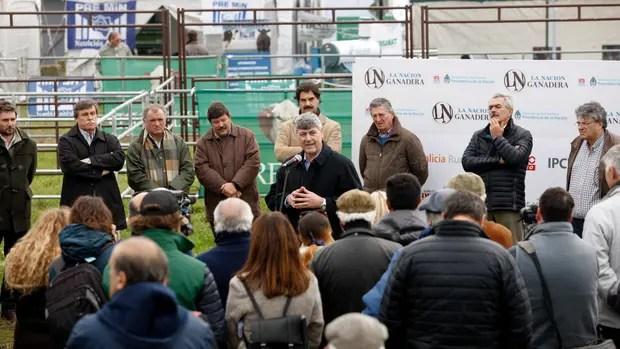 Se inauguro hoy La Nación Ganadera en Balcarce.