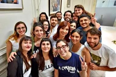 Cristina Kirchner recibió a la nueva conducción de la FUBA