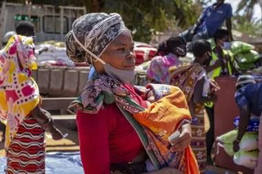 El continente africano sobrepasó los dos millones de casos confirmados