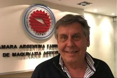 Néstor Cestari, presidente de Cafma