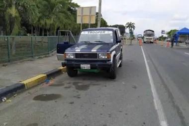 En la camioneta viajaban cuatro familiares del hombre muerto, que tenía 61 años