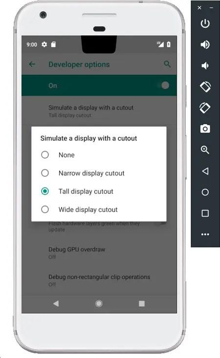 Android P adapta su barra de notificaciones a los nuevos formatos de pantallas