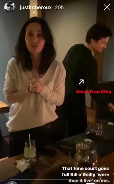 Courteney Cox agradece a Aniston por sus platos