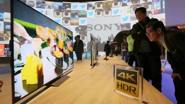 Sony presentó sus modelos de smart TV HDR