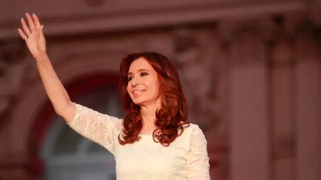 Cristina, en su último discurso como presidenta