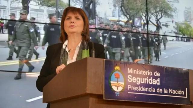 Patricia Bullrich encabezará el nuevo sistema de seguridad en los estadios
