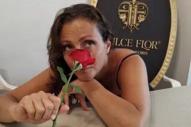 Fernanda recuerda que su abuela le daba pétalos a modo de premio