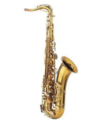 """Clarence Clemons tocó este saxofón en muchos de los clásicos de Bruce Springsteen and the E Street Band, como """"Thunder Road"""""""
