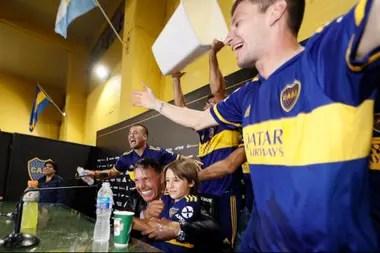 La intimidad de los festejos del Boca campeón