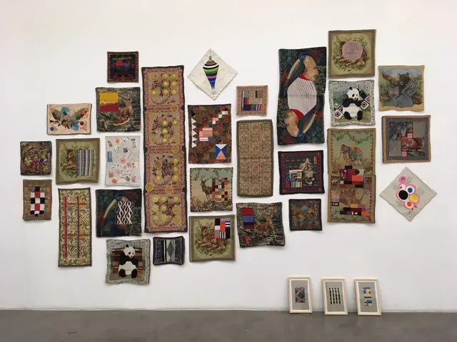 Obra de Chiachio y Giannone exhibida en Ruth Benzacar