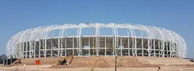 Santiago del Estero tiene altos niveles de pobreza, pero eso no impidió la construcción del moderno Estadio Único