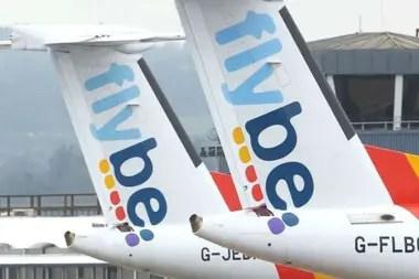 La aerolínea británica Flybe se declaró en quiebra