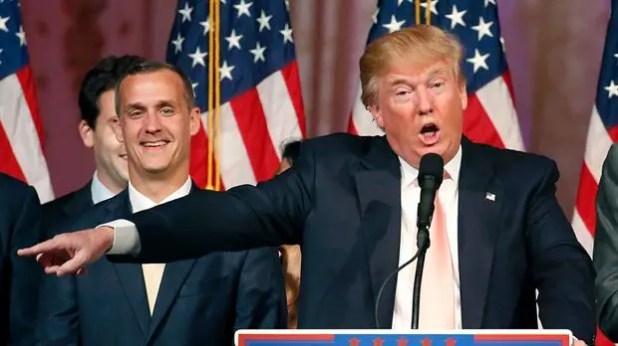 El presidente electo de los Estados Unidos, Donald Trump