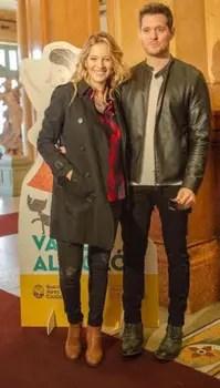 Luisana Lopilato y Michael, en familia. Foto: LA NACION