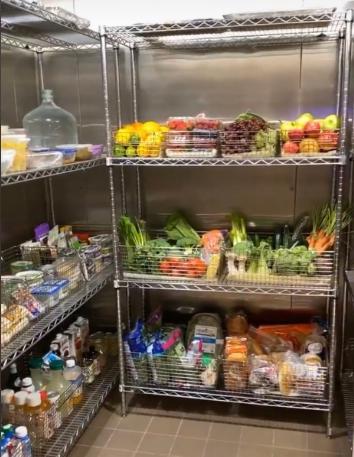 La cámara frigorífica de la familia Kardashian West