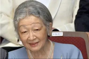 La emperatriz japonesa Michiko, en julio de 2013