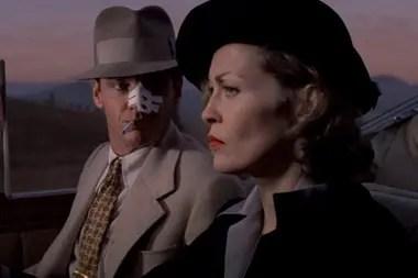 Faye Dunaway, en una escena de Barrio Chino