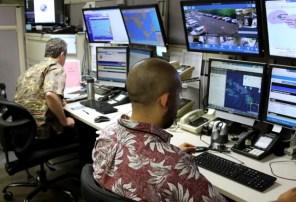 Las oficinas de la Agencia de Administración de Emergencias de Hawaii, desde la que se envió el mensaje equivocado