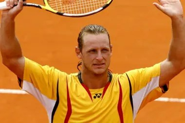 Nalbandian, vencedor en 2008: fue el último argentino campeón hasta hoy