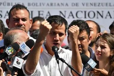 Guaidó fue detenido y luego liberado