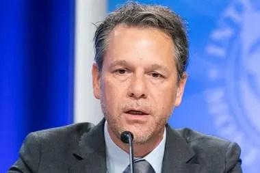 El economista venezolano Luis Cubeddu fue nombrado como jefe de misión para la Argentina en noviembre de 2019