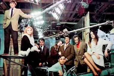 """El """"Clan Stivel"""" en las grabaciones de su éxito televisivo, Cosa Juzgada"""