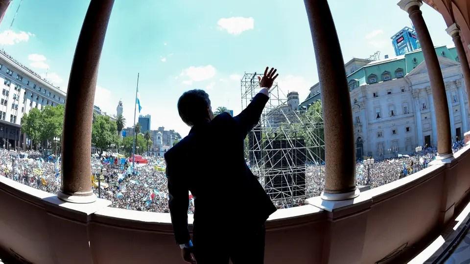 Fotos ntimas de Mauricio Macri en el da de la asuncin presidencial  10122015  LA NACION