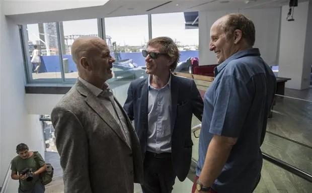 Telerman, Lopérfido y Bauer, en la Fundación Proa