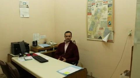 Paolo Salinas, el contador del municipio