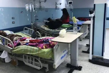 """""""Yo tengo garantizado el dinero del país en una cuenta y ese dinero, que era para traer medicinas me los secuestran, entonces ustedes salen a decir que la medicina faltó"""", respondió Trump cuando se le preguntó por el estado del sistema sanitario en Venezuela."""