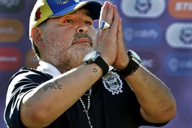 Murio Maradona, una noticia que conmociona al mundo.