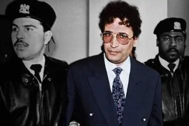 El agente de inteligencia libio Abdelbaset al Megrahi fue declarado culpable de asesinato masivo