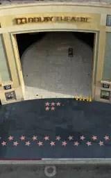 Las veredas vacías de Hollywood Boulevard