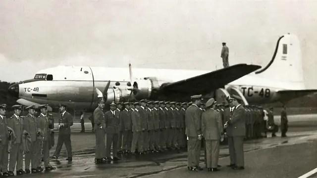 El avión TC48